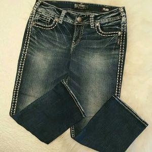 """Silver Jeans Capri.  Size 30"""" Excellent Condition"""